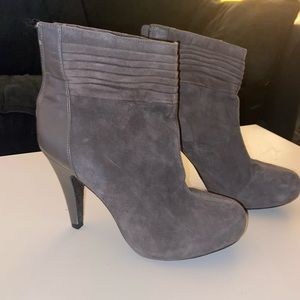Gray Gianna Bini Booties